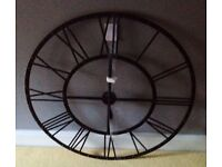 Large Tosca Wall Clock