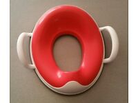 Pink Prince Lionheart Weepod - Wee Pod Toilet Trainer Handles Red