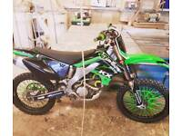 Wanted all non running motocross bikes kx kxf YZ YZF RM cr