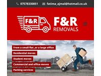 F&R REMOVAL SERVICES, MAN WITH A VAN BASSED IN HIGH WYCOMBE