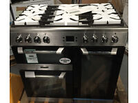 LEISURE RANGE COOKER DUAL FUEL 90CM WIDE **NEW DISPLAY ITEM** FREE DELIVERY