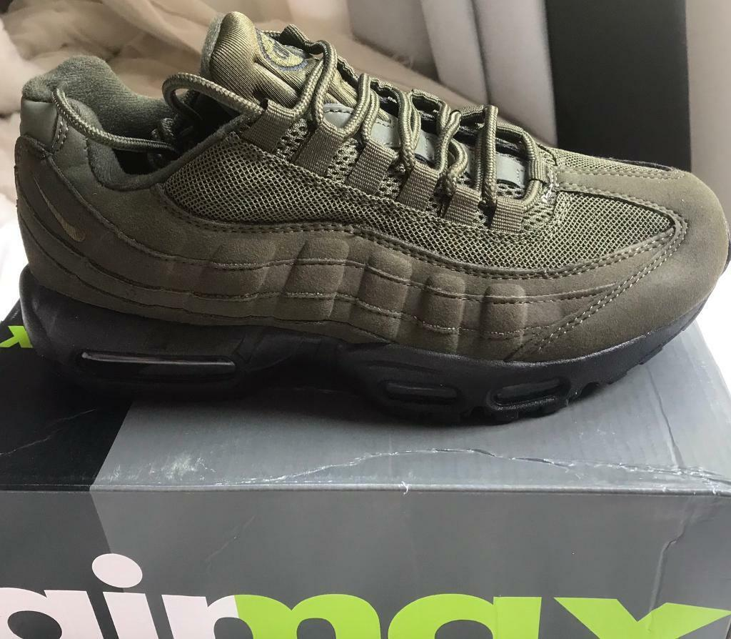 the latest 7ae6a ca6bf Nike air max 95s khaki green | in Finchley, London | Gumtree