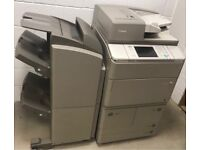 Canon ir 6055i black and white photocopier network printer scanner