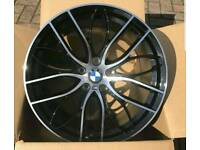 "BMW 405M ALLOYS 18"" 19"" 20"" F SERIES BRAND NEW FOR SALE £499"