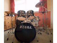 Drum Kit- TAMA- Swingstar- Deep Purple