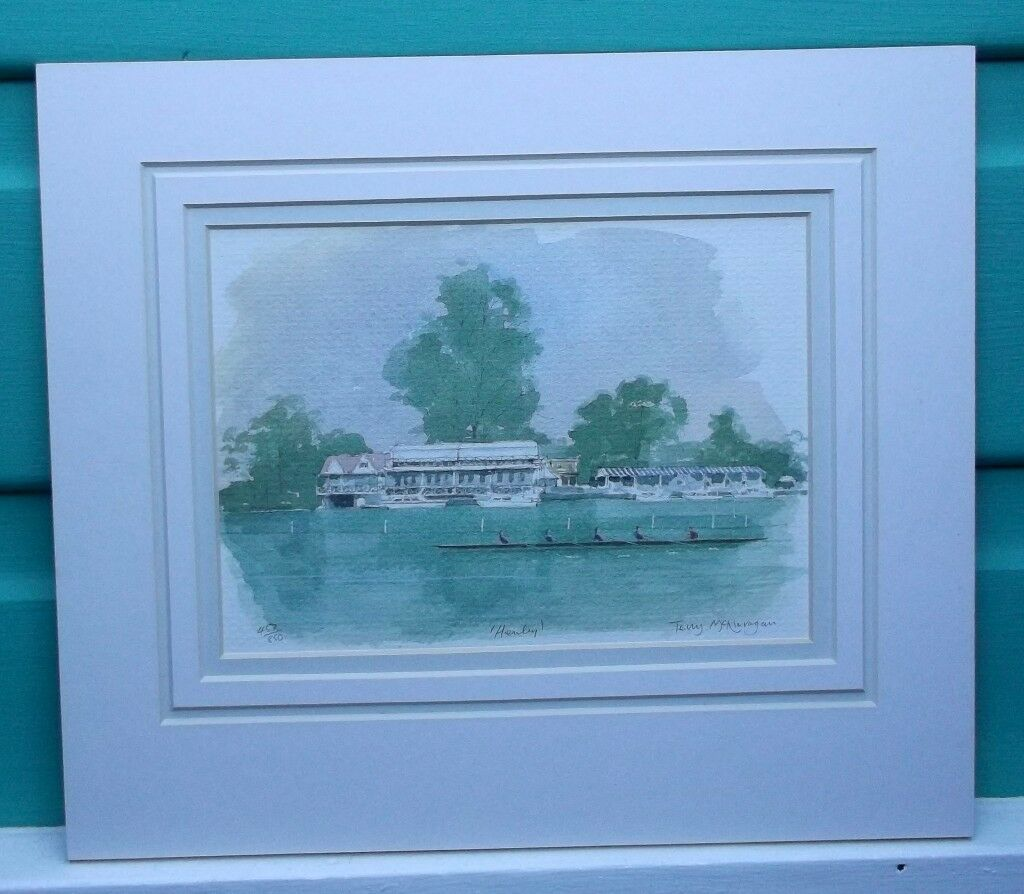 Limited Edition Print by Terry McKivragan - 'Henley'