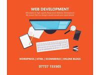 Website Developer - Wordpress - Online Stores - SEO - HTML