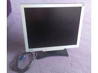 BenQ FP91G+ 19 inch LCD Monitor - Silver / Black
