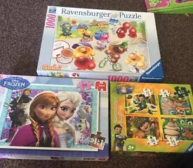 Disney Frozen, Tree Fu Tom, Gelini Puzzle