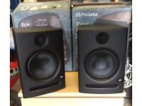 (PAIR) Presonus Eris E5 studio monitor powered speakers