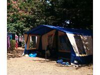 Conway 6 berth trailer tent