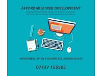 Quick and Affordable Website Design - Booking Websites and Online Stores - Blogs - Wordpress - SEO