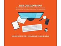 Affordable Web Design with CMS - Wordpress - Online Stores - Booking Websites - Blog Website Design