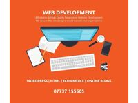 Bespoke Website Design - Online Booking Websites - eCommerce Stores - Wordpress Websites - SEO