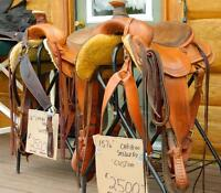 His and Hers Cariboo Saddlery Custom Saddles for Sale