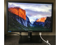 19inch Samsung Widescreen LED TFT Flat screen Monitor with DVI VGA HDMI adapter