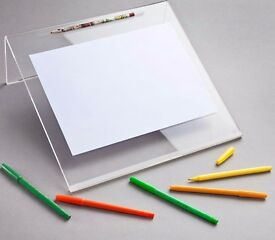 Sloped Writing Board for Children Multi-fuctional Use Stand Holder & Craft Workstation