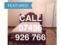 BIG CLEAN KING SIZE DOUBLE ROOM & VERY LARGE SINGLE ROOM TO LET NEAR STATION ILFORD