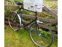 Raleigh Richmond vintage single speed town bike