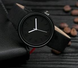 Unisex Black Fashion Watch