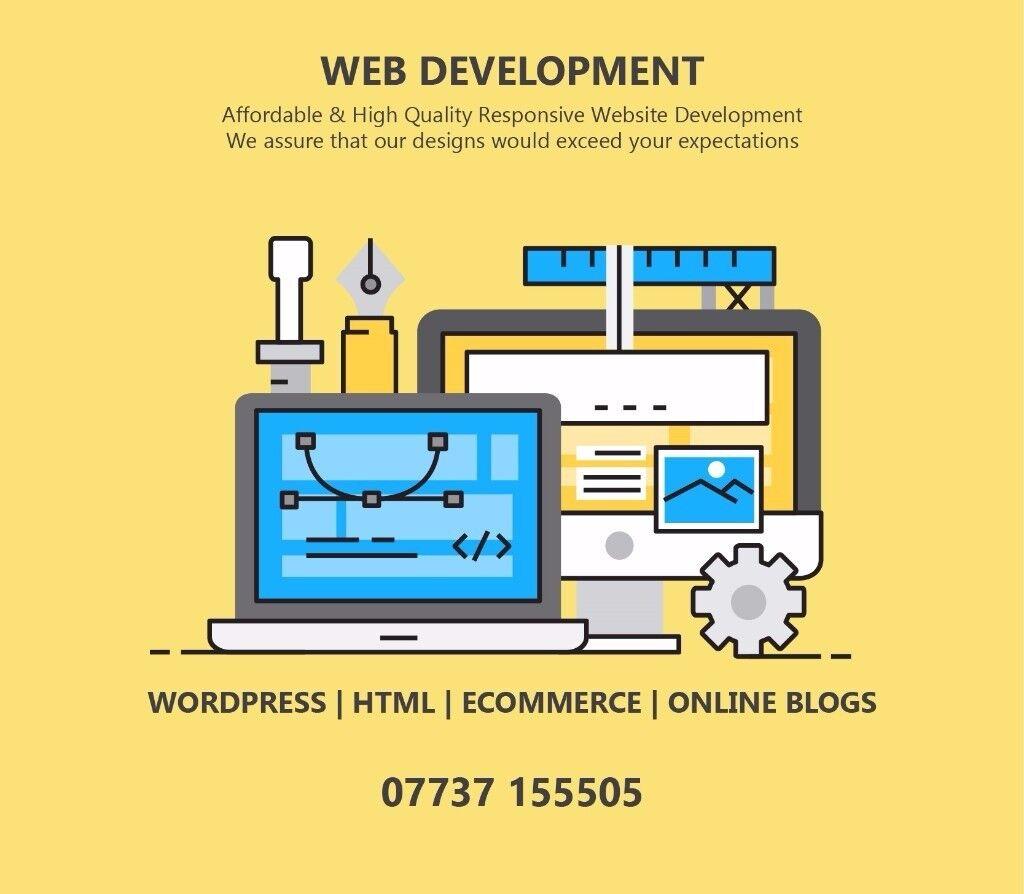 Website Developer - Wordpress - Online Stores - SEO - HTML