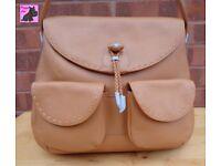 RADLEY 'Stables' Tan Leather Large Hobo Shoulder Bag *New without Shop Tags*