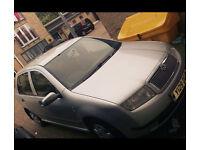 2001 SKODA FABIA 1.4 16V COMFORT, 5 DOOR - AUTO, LOW MILES, GENUINE SALE, same as POLO, LUPO, CORSA