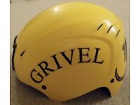 YELLOW GRIVEL CLIMBING HELMET - SIZE INDIVIDUAL ADAPTING SYSTEM - 54CM TO 62CM