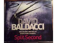 "David Baldacchi ""Split Second"" CD Audiobook"