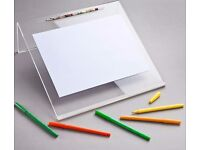 Portable Posture Writing Slope | Space-efficient Design Multi-functional Use Document Holder