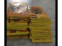 55 packs of Sainsbury's Lego cards