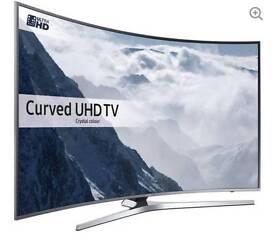 "SAMSUNG UE65KU6680 Smart 4k Ultra HD HDR 65"" Curved LED TV"
