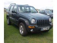 RARE MANUAL 2002 JEEP CHEROKEE 2.5 CRD SPORT DIESEL PX SWAP BMW Astra sport est have £1000