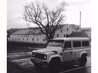 Land Rover 110 Camper (Defender) Overland/ expedition Camper-van