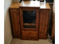 Hi-Fi Cabinet in Ducal Solid Pine Wood for Sale