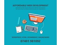 Web Design & Development - SEO & Mobile Friendly - Affordable Rates