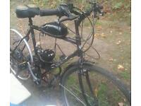 80cc giant petrol pushbike