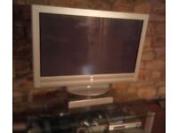 Sony TV with surround sound speakers