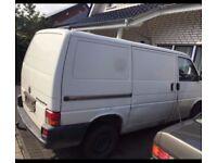 German Left Hand drive Volkswagen Transporter T4 - Day Van contact Ade 07404196142