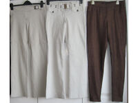 Ladies Trousers and Jeans, sizes 10 and 10-12. Some NEW £1.50 - £4 each