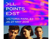 2 x tickets for The XX , Lorde, Sampha @ Victoria Park Saturday 26th May