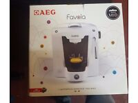 AEG A Modo Mio Favola Lavazza Espresso Coffee Machine, 0.9 Litre £35