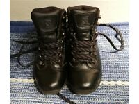 Kids Campri Walking Boots size 3 UK black