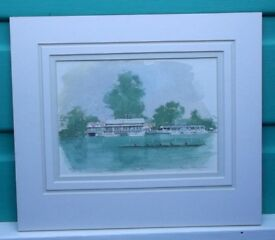 Limited Edition Print by Terry McKivragan 'Henley'