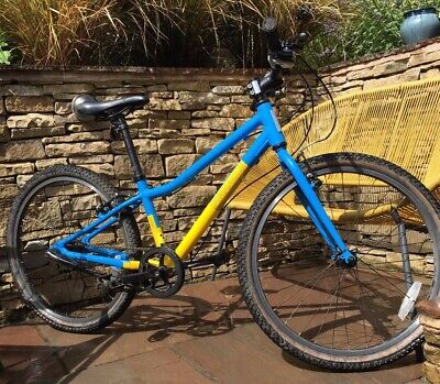 Pinnacle Aspen 24 Inch Kids Bike - blue & yellow unisex