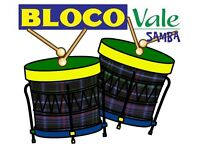 New Year New Hobby? Bloco Vale Samba Drumming Group are recruiting now for 2018