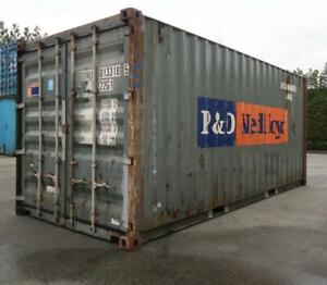 20 Ft Damaged Shipping Container