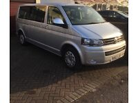 Volkswagen Transporter 62 plate. 48634 miles. Good condition. MOT March 2018
