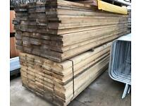🌈 3.9M WOODEN/ TIMBER SCAFFOLD STYLE BOARDS > NEW