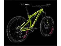 Specialized No! Trek No!Cannondale No! Whyte G-160 full suspension men's mountain bike